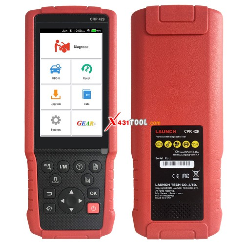 Original LAUNCH CRP429 Full System Diagnostic Tool with All System Diagnoses and Service Functions (Advanced Version of CRP Touch Pro)