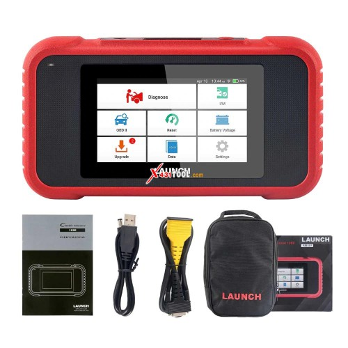 LAUNCH Creader CRP129E 4 System Diagnostic for Engine/ ABS/ SRS/ Transmission with Oil Service/ EPB/ TPMS/ SAS/ Throttle Body Reset