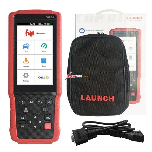 Original Launch CRP818 Full System OBD2 Diagnostic Tool for European Cars Only Replaced Easydiag 3.0