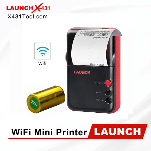Original LAUNCH WiFi Mini Printer for X431 V/ X431 V+/ Pro3/ PRO/ PAD II with WiFi Function Fast