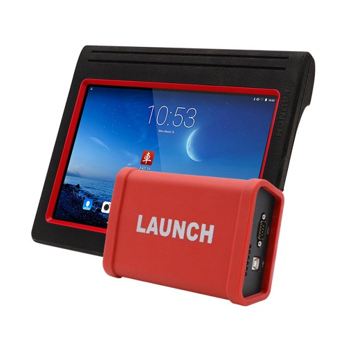Original LAUNCH X431 V+ X431 HD Heavy Duty Full System Truck Diagnostic Tool for 12V/24V Diesel Truck with HD Module