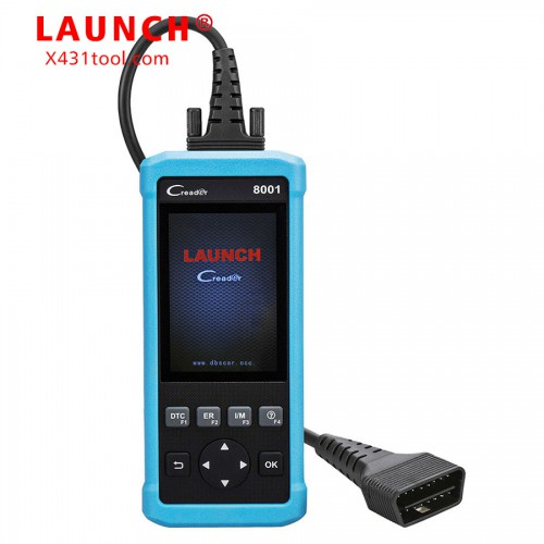 Launch DIY Code Reader CReader 8001 Full OBD2 Scanner/Scan Tool with Oil Resets Service