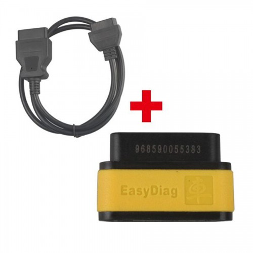 Original Launch EasyDiag Plus OBD2 16Pin Male to Female Extension Cable