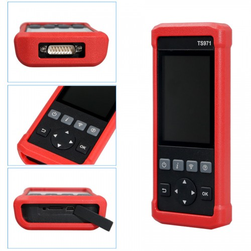 LAUNCH TS971 TPMS Universal Programmer Wireless Car Tire Pressure Monitoring Sensor 433Mhz 315Mhz TS401 TS601 Creader 971