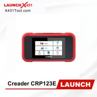 LAUNCH X431 CRP123E OBD2 Code Reader For Engine ABS Airbag SRS Transmission OBD Diagnostic tool CRP123 E Free Update