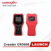 100% Original LAUNCH OBD2 CR3008 Universal Full OBD 2 Engine Code Reader Scan Tool Free Update Online