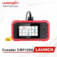 Original LAUNCH Creader CRP129X Car Diagnostic Tool for Engine/ Transmission/ ABS/ SRS with OIL/ EPB/ SAS/ TPMS/ Throttle Body Reset and AutoVIN