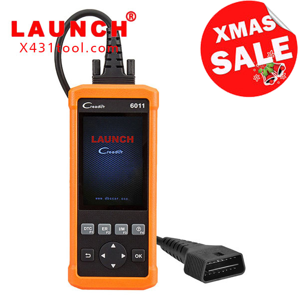 National Day Sale Launch CReader 6011 OBD2/EOBD Diagnostic Scanner with ABS and SRS System Diagnostic Functions