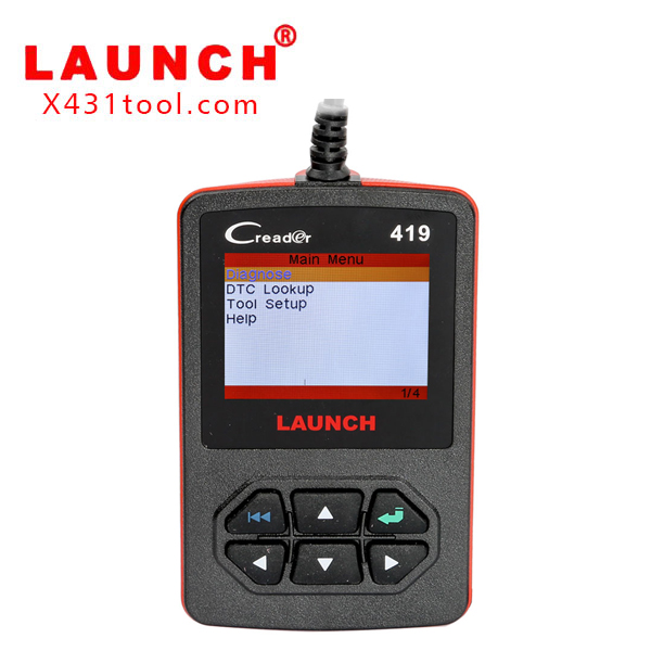 Launch DIY Scanner CReader 419 CR419 OBDII/EOBD Auto Diagnostic Scan Tool Code Reader Free Shipping