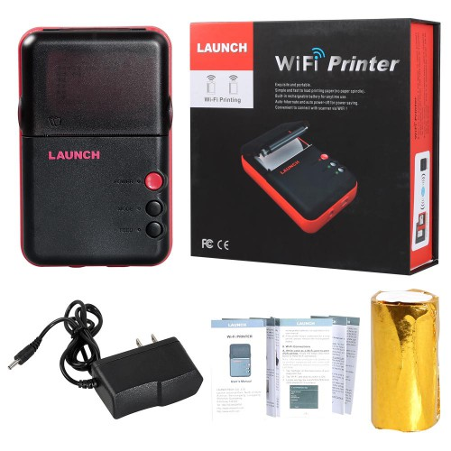 [Ship from US] Original LAUNCH WiFi Mini Printer for X431 V/ X431 V+/ Pro3/ PRO/ PAD II with WiFi Function Fast