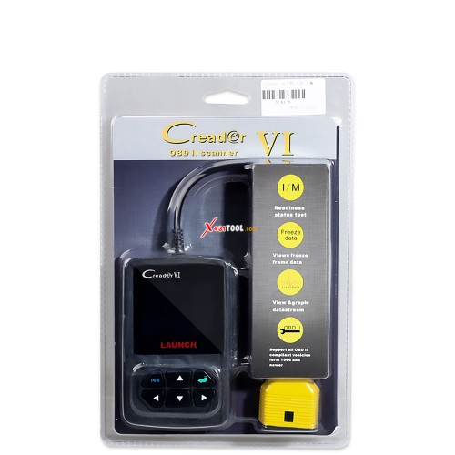 Original Launch Creader VI Creader 6 OBDII EOBD Code Reader Global Free Shipping