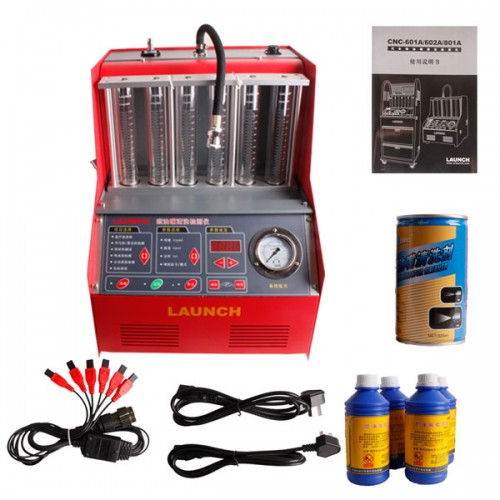 Original Launch X431CNC-602A Injector Cleaner & Tester 220V
