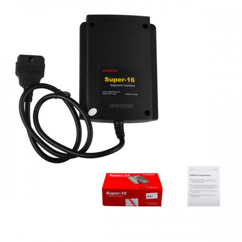 100% Original Launch X431 Super 16 Diagnostic interface OBD2