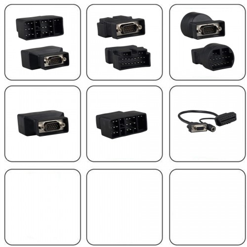 X431 5C Pro/X431 iDiag Connector Set Package