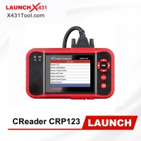 [Ship from US] Launch CRP123 4 System Automotive Diagnostic Tool for Engine/ ABS/ SRS/ Transmission Same as Creader VII+