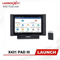 [Global Version] Original LAUNCH X431 PAD III V2.0 Auto Diagnostic Tool with Blutooth/ Wifi Support Coding and Programming 3 Years Free Update Online