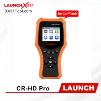 Original LAUNCH CR-HD Pro 12V/ 24V Car and Heavy Duty Truck OBD2/ HOBD Code Reader