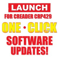 Original Launch Creader CRP429 Full System One Year Update Service