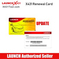 One Year Online Software Update Service for Launch X431 Heavy Duty and X431 HD III Module