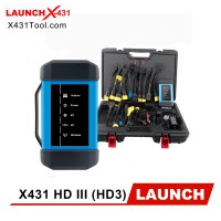 [Ship from US] Original Launch X431 HD III Heavy Duty Module Truck Diagnostic Tool Works with Launch 431 V+/ X431 PRO3/ X431 PADII/ X431 PAD3