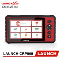 Original LAUNCH CRP909 All System Automotive Diagnstic Scanner with 15 Service Functions