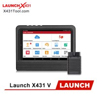 [Ship from US] Original Launch X431 V 8 Inch Tablet WiFi/ Bluetooth Full System Diagnostic Tool 2 Years Free Update Online