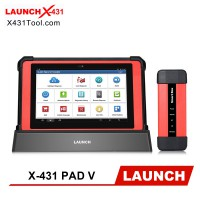 [Global Version] Launch X-431 PAD V with SmartBox 3.0 Automotive Diagnostic Tool Support Online Coding and Programming Update Online