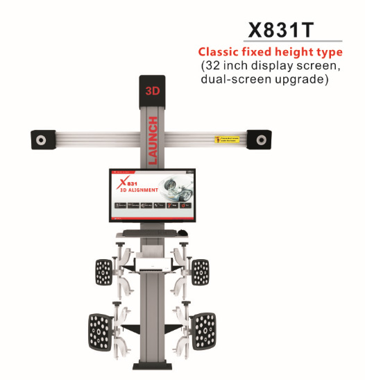 launch-x831t-3d-4-post-car-alignment-lift-platform-diplay-2
