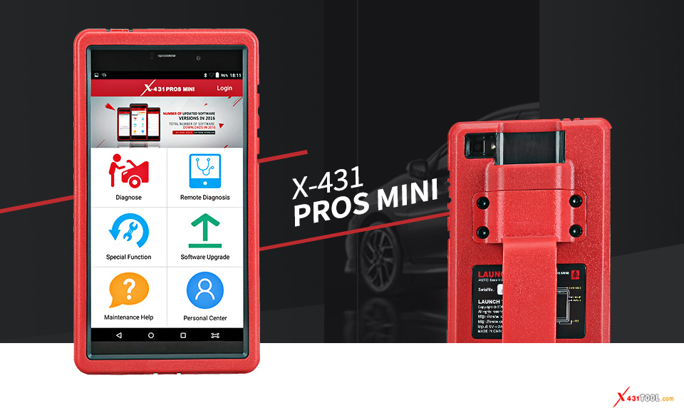 Launch X-431 PROS MINI