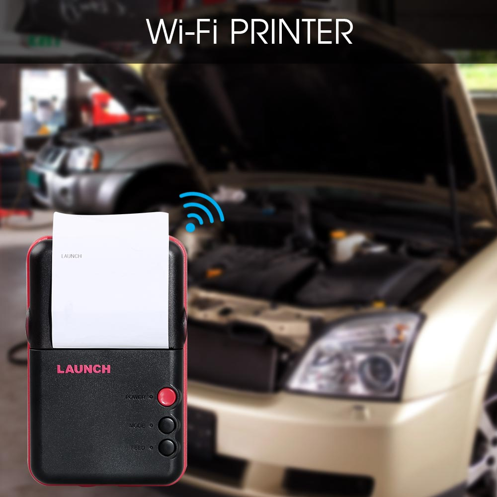 Buy Original LAUNCH X431 V 8 Inch Tablet Full System Diagnostic Tool Get LAUNCH WIFI Printer Free
