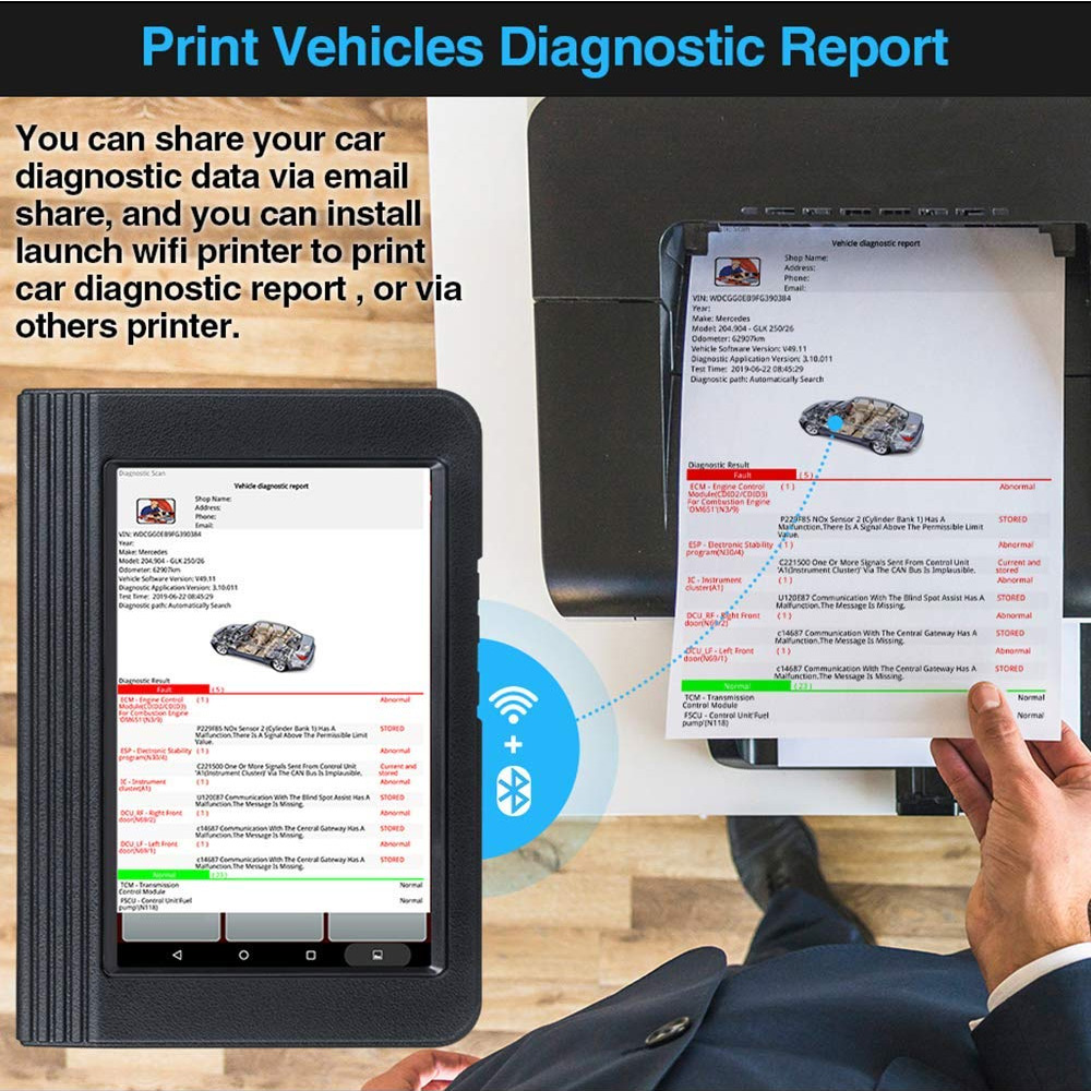 Buy Original LAUNCH X431 V+ X431 PRO3 Full System Diagnostic Tool Get LAUNCH WIFI Printer Free