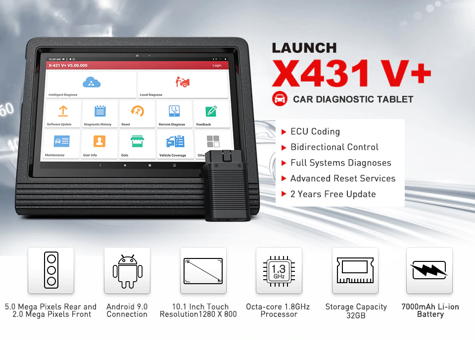 Original Launch X431 V+
