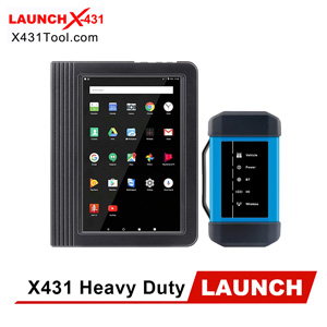 [Black Friday] Original LAUNCH Heavy Duty Diesel Truck Diagnostic Tool (LAUNCH X431 V+ with HD III Heavy Duty Module) for 24V Trucks Only